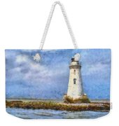Tybee Island Lighthouse Weekender Tote Bag