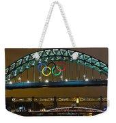 Tyne Bridge At Night II Weekender Tote Bag