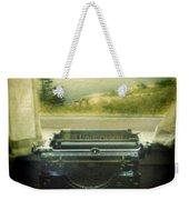 Typewriter By Window Weekender Tote Bag