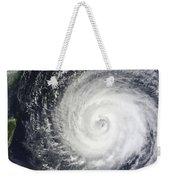 Typhoon Muifa East Of Taiwan Weekender Tote Bag