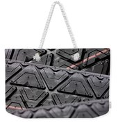 Tyres Stacked With Focus Depth Weekender Tote Bag
