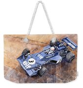 Tyrrell Ford 007 Jody Scheckter 1974 Swedish Gp Weekender Tote Bag