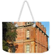 Uc Berkeley . South Hall . Oldest Building At Uc Berkeley . Built 1873 . The Campanile In The Back Weekender Tote Bag
