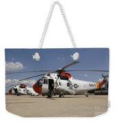 Uh-3h Sea King Helicopters Based Weekender Tote Bag