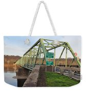 Uhlerstown Frenchtown Bridge Weekender Tote Bag