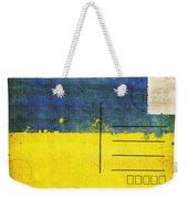 Ukraine Flag Postcard Weekender Tote Bag