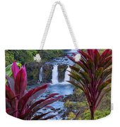 Umauma Falls Big Island Hawaii Weekender Tote Bag