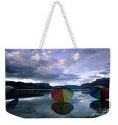Umbrella Beach Weekender Tote Bag
