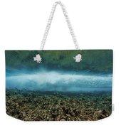 Under An Ocean Wave Weekender Tote Bag