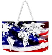 Under Protection Map Weekender Tote Bag