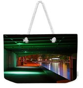 Under The Bridge Weekender Tote Bag by Joann Vitali