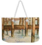 Under The Docks Weekender Tote Bag