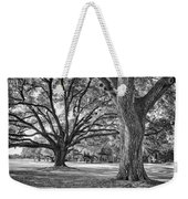 Under The Oaks Weekender Tote Bag