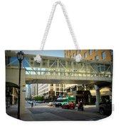 Under The Skywalk - Street Lamp Weekender Tote Bag