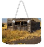 Under The Weight Of It All Weekender Tote Bag by Mike  Dawson