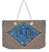 Underground Rr Buffalo Ny Landscaped Weekender Tote Bag
