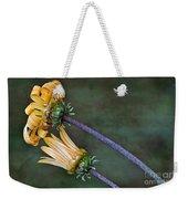 Unfurling Daisy Weekender Tote Bag