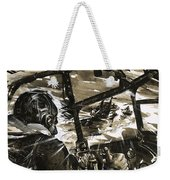 Unidentified Aircraft Diving To Attack A Ship  Weekender Tote Bag