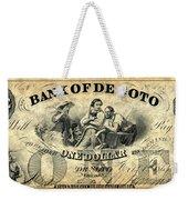 Union Banknote, 1863 Weekender Tote Bag