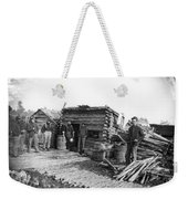 Union Camp Kitchen, 1864 Weekender Tote Bag