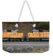 Union Pacific Locomotive Trains . 7d10573 Weekender Tote Bag