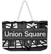 Union Square  Weekender Tote Bag by Susan Candelario