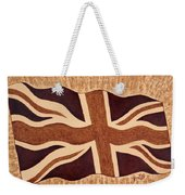 United Kingdom Flag Coffee Painting Weekender Tote Bag