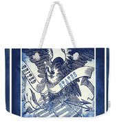 United States Blue Weekender Tote Bag