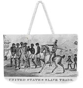 United States Slave Trade Weekender Tote Bag by Photo Researchers