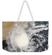 Unnamed Tropical Cyclone Approaching Weekender Tote Bag
