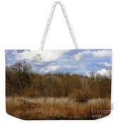 Unspoiled Prairie Landscape Weekender Tote Bag
