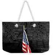 Unspoken Words On A Shiny Wall Weekender Tote Bag