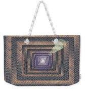Unto Infinity Weekender Tote Bag