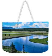 Up A Lazy River Weekender Tote Bag