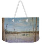Up Among The Heather Weekender Tote Bag