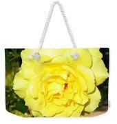 Upbeat Yellow Rose Weekender Tote Bag
