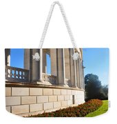 Upclose Of Arlington Memorial Amphitheater Weekender Tote Bag