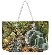 Upper Cascade Hidden Falls Weekender Tote Bag