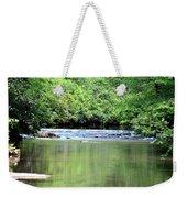 Upper Creek Reflections Weekender Tote Bag