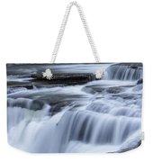Upper Falls Detail Weekender Tote Bag