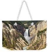 Upper Falls Yellowstone Weekender Tote Bag