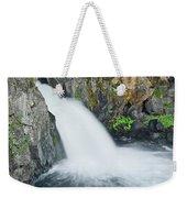 Upper Mccloud Falls 2 Weekender Tote Bag