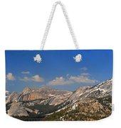Upper Yosemite Panorama Weekender Tote Bag