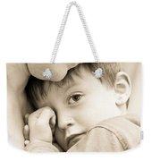 Upset Child Weekender Tote Bag