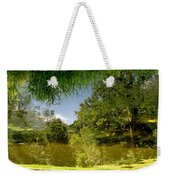 Upside Down And Backwards Weekender Tote Bag