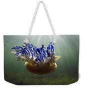 Upside-down Jellyfish Cassiopea Sp Weekender Tote Bag