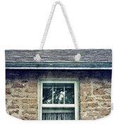 Upstairs Window In Stone House Weekender Tote Bag