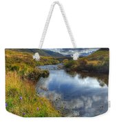 Upstream To The Bridge Weekender Tote Bag