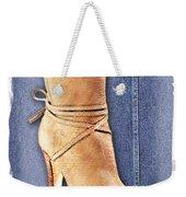 Urban Cowgirl Suede Boots Weekender Tote Bag