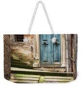Urbino Door And Stairs Weekender Tote Bag